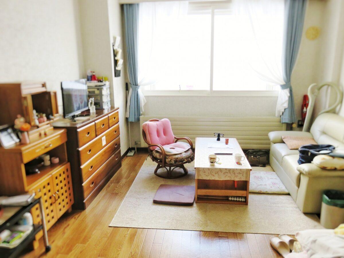 サービス付き高齢者向け住宅の居室の例